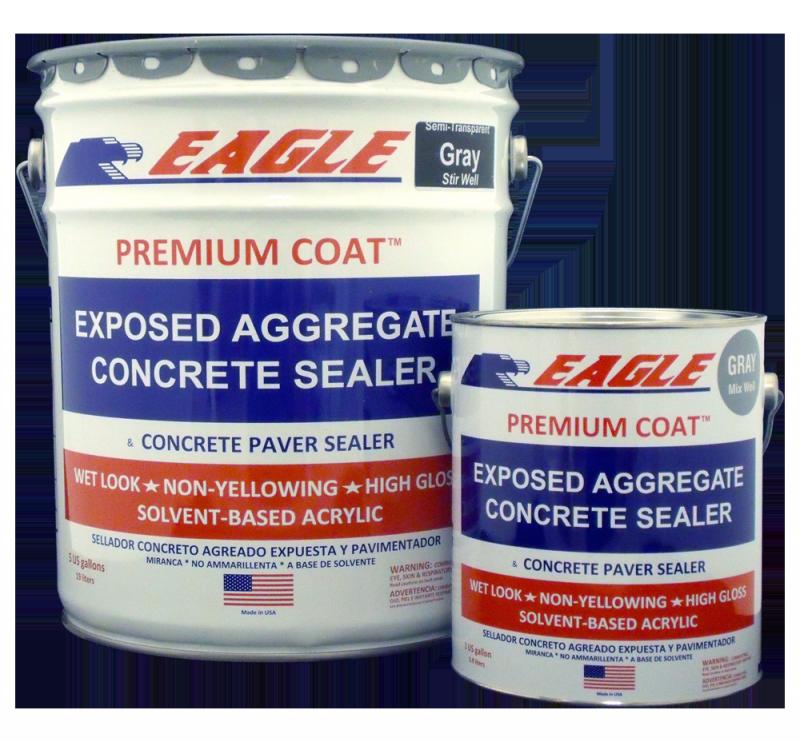 Concret sealer stripper